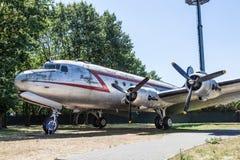Raisin Bomber at Airlift Memorial in Frankfurt Royalty Free Stock Photo