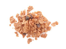 Raisin bran cereal Royalty Free Stock Images