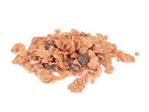 Raisin bran cereal Stock Photo