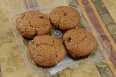 Raisin bran muffins Royalty Free Stock Photos
