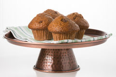 Raisin Bran Muffins Royalty Free Stock Photos