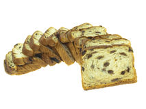 Raisin bread Stock Photo