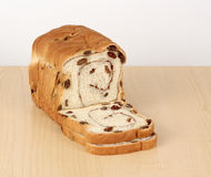Raisin Bread Royalty Free Stock Photo