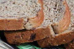 Raisin bread Royalty Free Stock Photos