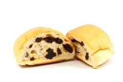 Raisin bread Stock Photos
