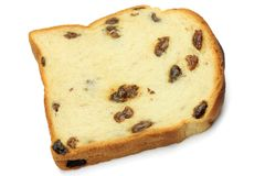 Raisin bread Royalty Free Stock Image