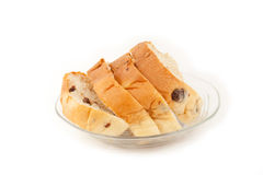 Raisin bread. Stock Images