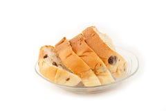 Raisin bread. Stock Images