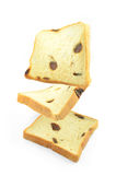 Raisin bread. Stock Photo