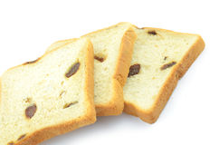 Raisin bread. Royalty Free Stock Images