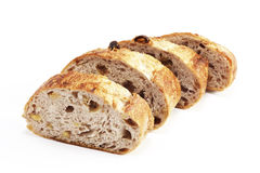 Raisin bread. This picture is a homemade raisin bread Royalty Free Stock Images