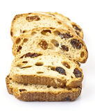 Raisin bread toast Stock Images