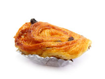 Raisin brioche sweet danish pastries Stock Photo
