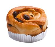Raisin bun Royalty Free Stock Photography