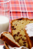 Raisin cake Stock Image