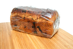 Raisin Cinnamon Bread Loaf Stock Images