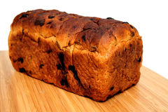 Raisin Cinnamon Bread Loaf Royalty Free Stock Images