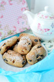 Raisin cookies Stock Photo