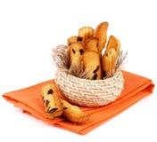 Raisin Cookies Stock Images