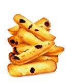 Raisin Cookies Stock Photography