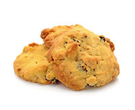 Raisin cookies of sweet Royalty Free Stock Images