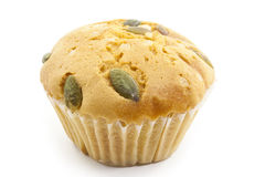 Raisin cup cake Stock Photography