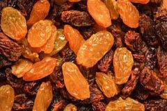 Raisin dried grape as background texture Stock Photo