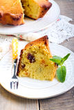 Raisin & dry apricot cake Royalty Free Stock Image