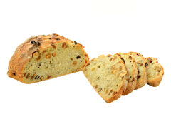Raisin, Honey, Hazelnut Specialty Bread. Royalty Free Stock Photo