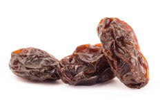 Raisin. The raisin isolated on white background Royalty Free Stock Photos