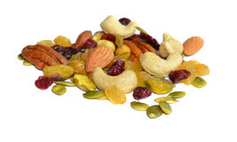 Raisin and Mixed nuts Royalty Free Stock Photo