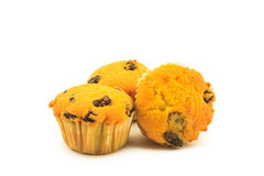 Raisin muffins Royalty Free Stock Photography