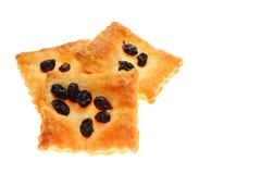 Raisin pie. I took a photo, I felt a delicious raisin pie royalty free stock photography