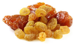 Raisin with prune Royalty Free Stock Photography