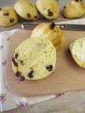 Raisin rolls for breakfast Stock Image