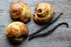 Raisin scones Royalty Free Stock Photos