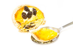Raisin Tart Royalty Free Stock Photography