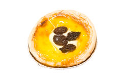 Raisin Tart Royalty Free Stock Photos