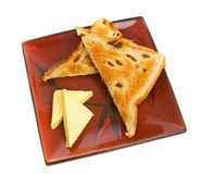 Raisin Toast Royalty Free Stock Photo