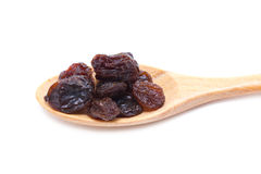 Raisin With Wooden Spoon. Stock Images