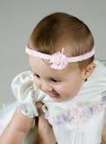 Raising Baby Stock Image