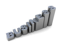 Raising business Stock Image