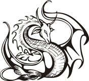 Raising dragon Royalty Free Stock Photography