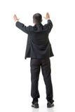 Raising hand to put something Royalty Free Stock Image