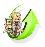 Raising money concept Royalty Free Stock Photos
