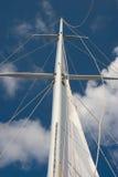 Raising the sail Royalty Free Stock Photos