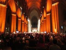 Raising Their Candles to Stop Gun Violence Stock Photos
