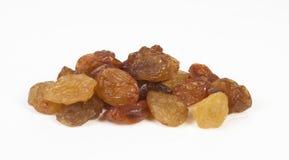 Raisins. On white background Stock Photography