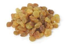 Raisins. Sweet Raisins isolated on white background Stock Photography