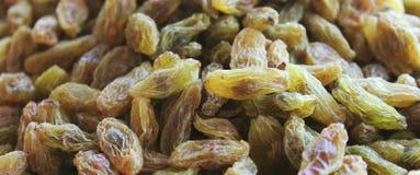 Raisins. Closeup shot, horizontal background Royalty Free Stock Images